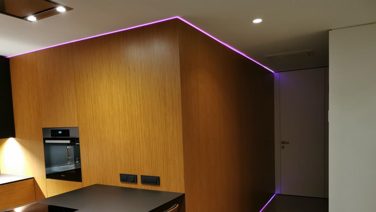 Osvetlitev doma po meri